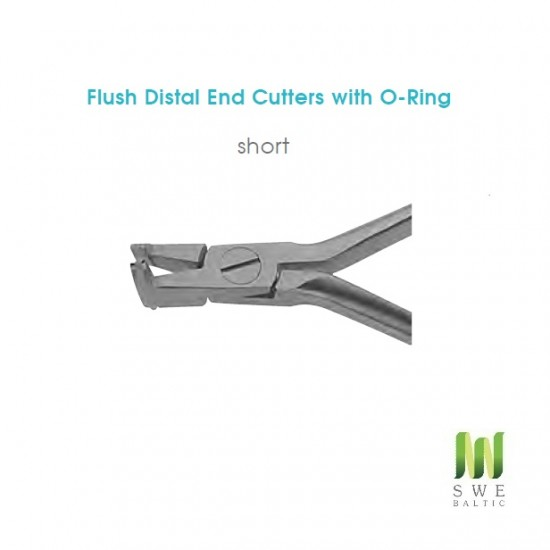 Flush Distal End Cutters with O-Ring Short