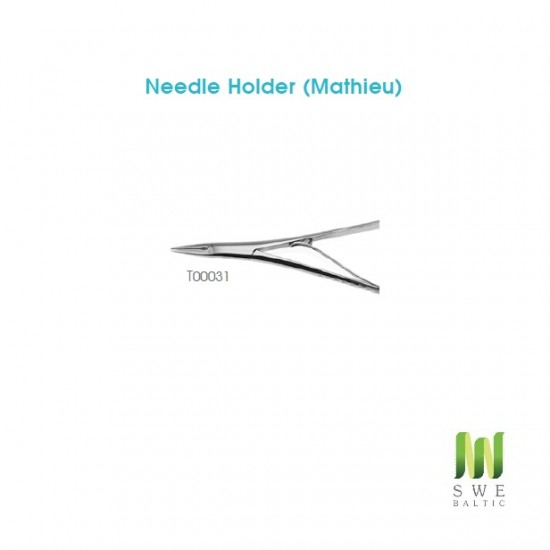 Needle Holder (Mathieu) with groove
