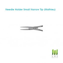 Needle Holder Small Narrow Tip (Mathieu)