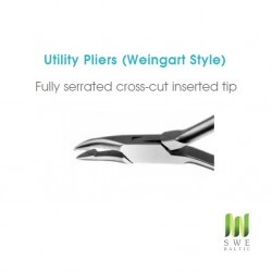 Weingart Pliers (Fully serrated)