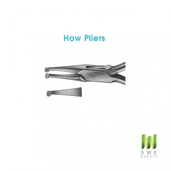 How Pliers (Straight beaks)
