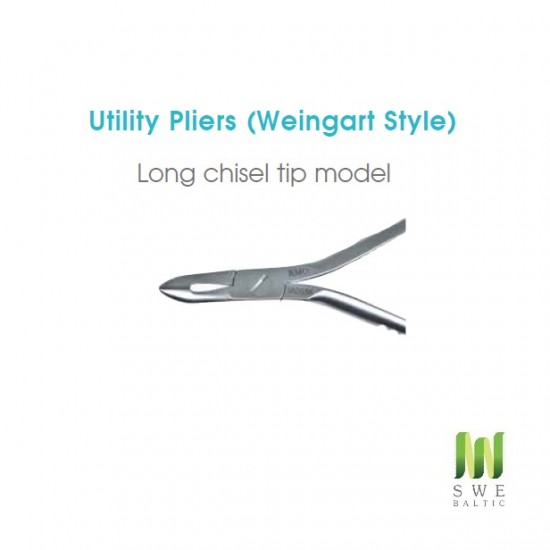 Weingart Pliers (Long chisel tip)