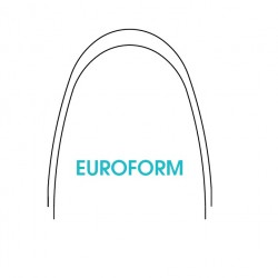 NiTi Euroform Thermal activated Arches 10x