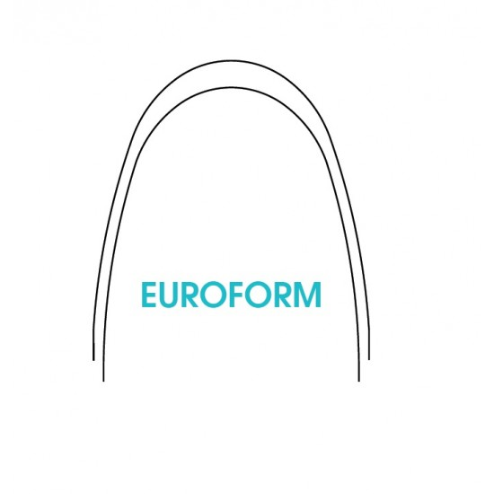 NiTi Euroform Thermaloy Plus Arches 10x