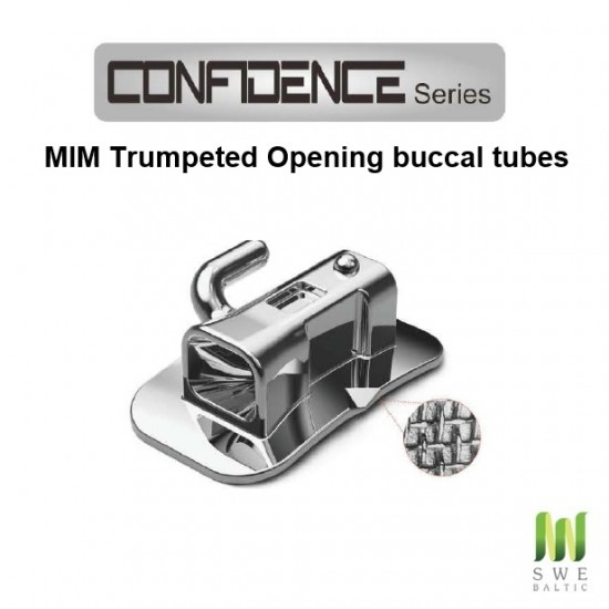 Confidence Series Buccal Tubes